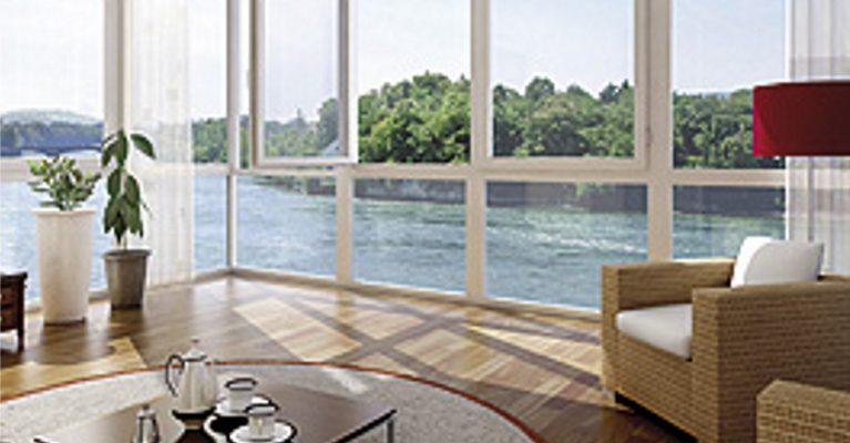 Wohnen in der Altersresidenz mit Blick auf den Rhein